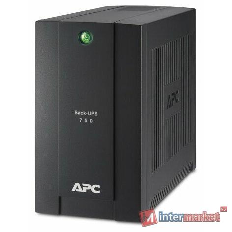 Резервный ИБП APC by Schneider Electric Back-UPS BC750-RS