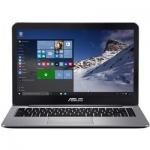 "Ноутбук ASUS EeeBook E403NA, Pentium N4200-1.1/128GB EMMC/4GB/14""HD/DOS, silver"