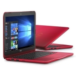 "Ноутбук Dell Inspiron 3162 (Celeron N3050-1.6/eMMC 32G/2GB/802.11n/BT/11.6""HD/Win10/red)"
