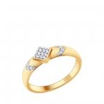 Кольцо Sokolov 93010624-17, серебро