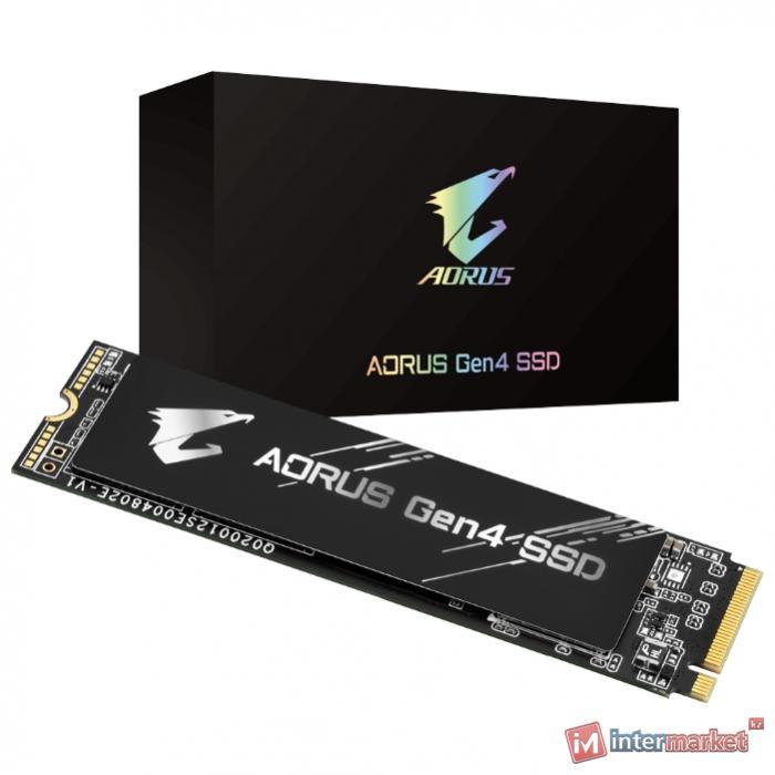 Твердотельный накопитель GIGABYTE AORUS 500 GB GP-AG4500G